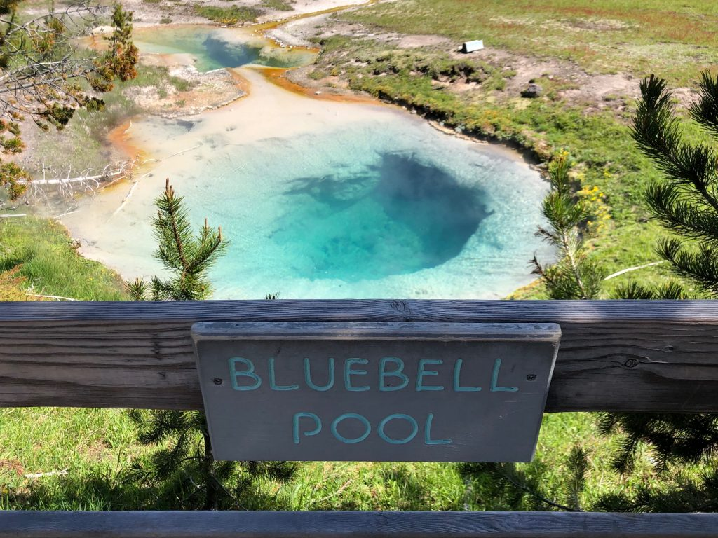 Bluebell Pool, West Thumb, Yellowstone