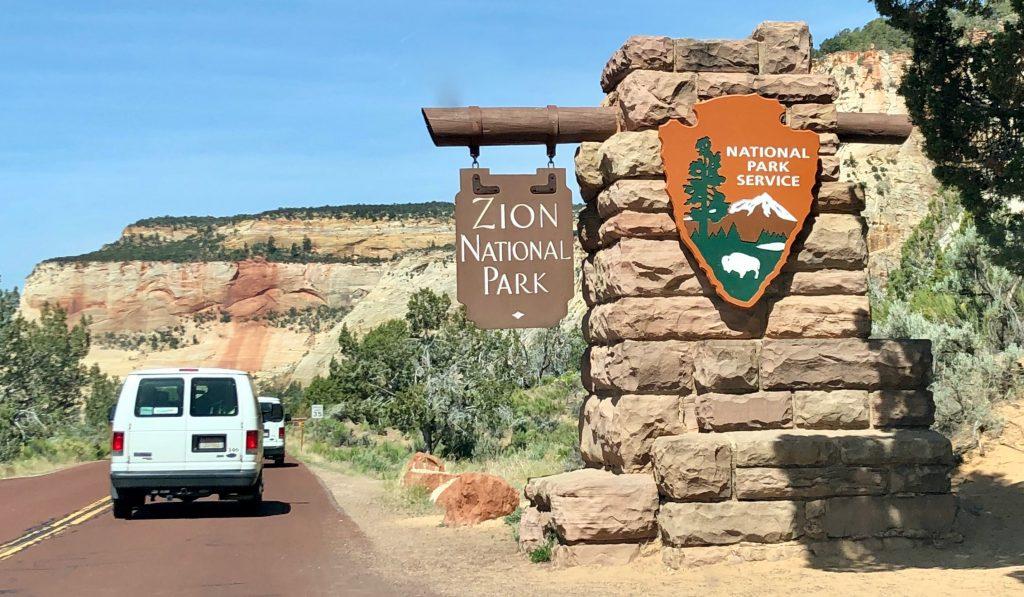 Zion National Park East Entrance