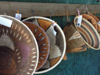 Baskets at Okahandja Craft Markets