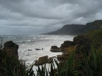 West Coast at Pancake Rocks