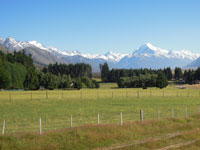 View from Glentanner